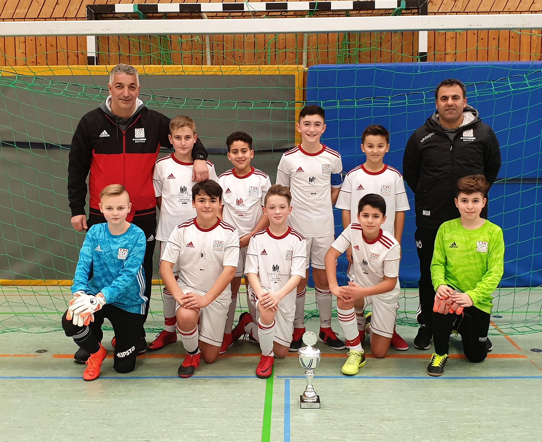 U12 gewinnt das Hallenturnier des TSV Wendlingen