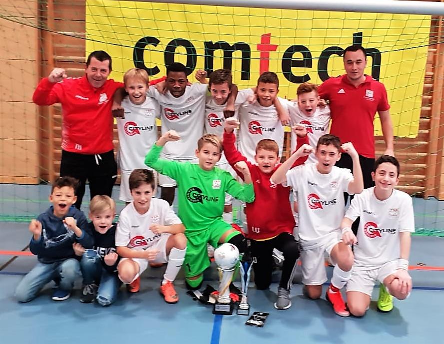 U13 gewinnt den Comtech Cup 2018