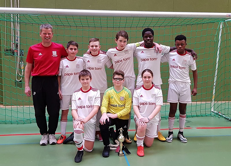 U15: Platz 2 im C-Junioren Hallenturnier des SC Bibersfeld
