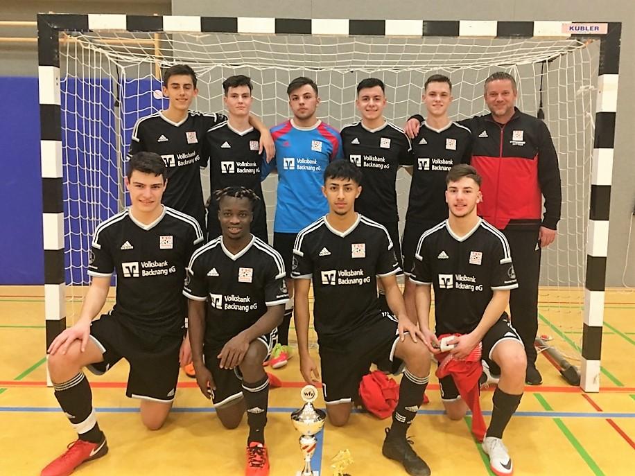 U19 gewinnt das Futsal Masters im Bezirk Rems-Murr