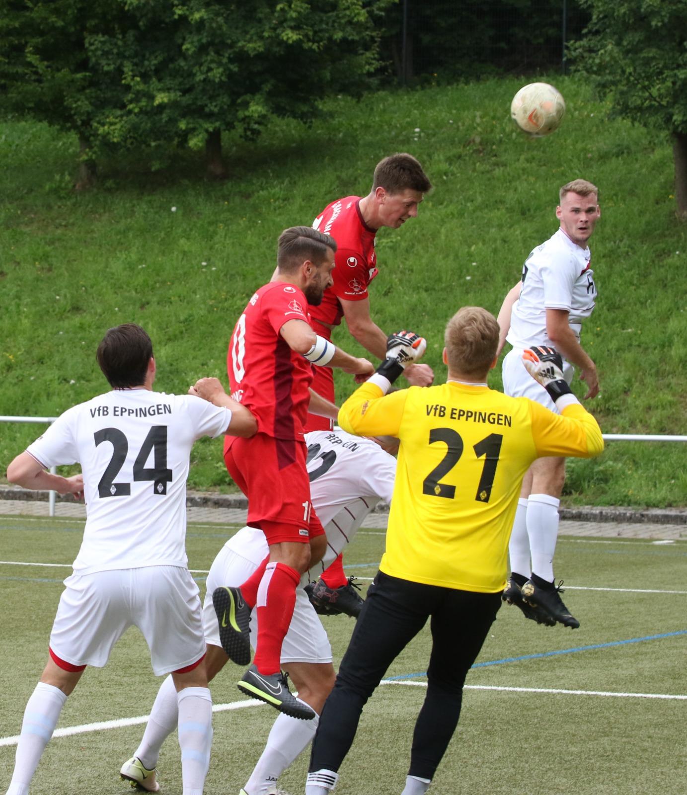 Herren1: Guter Test gegen den VfB Eppingen