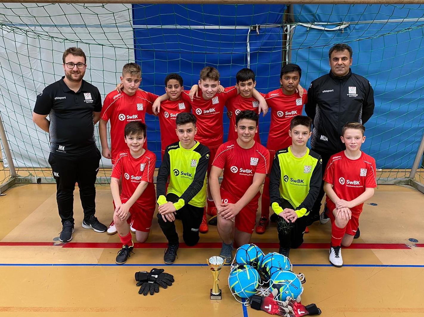 U13 erreicht Platz 3 beim Turnier des SV Allmersbach