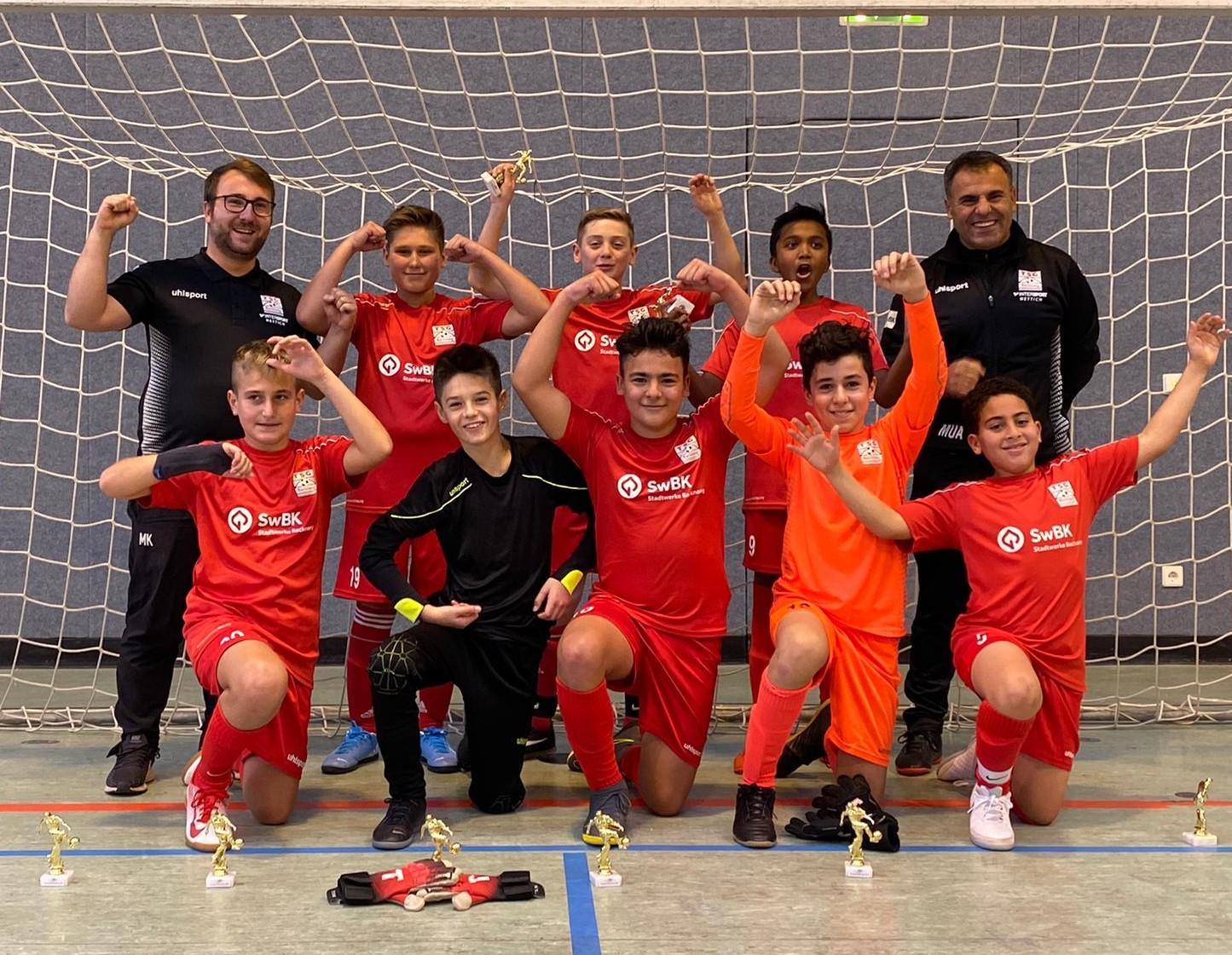 U13 mit Turniersieg in Schwaikheim