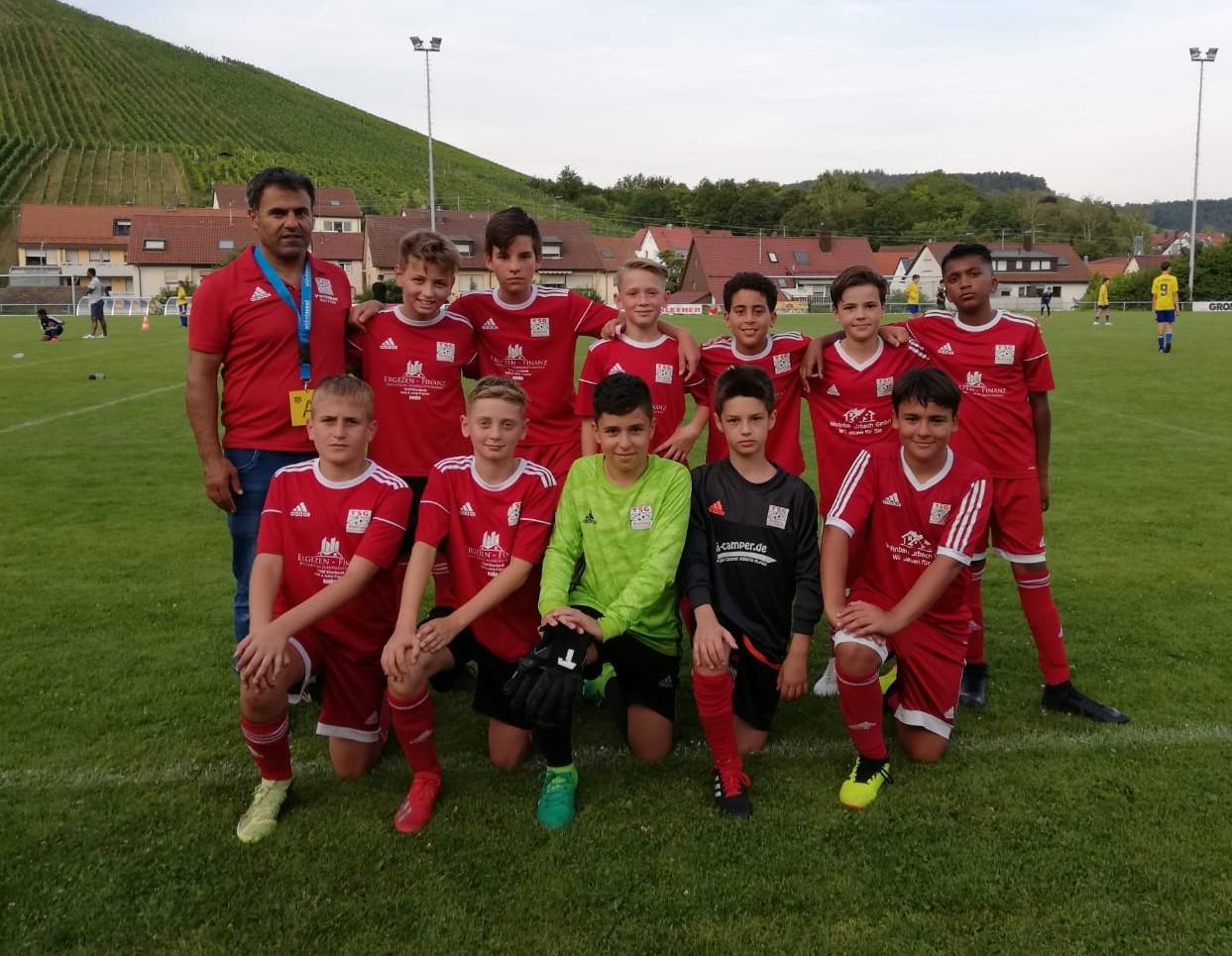 U13 erreicht den 2. Platz beim Turnier in Korb