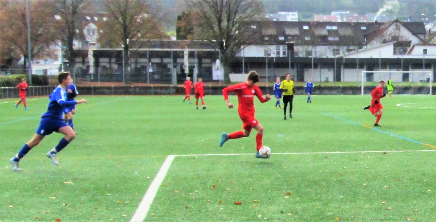 U15: Vorrundenabschluss mit 2:0-Sieg gegen Remshalden/Winterbach