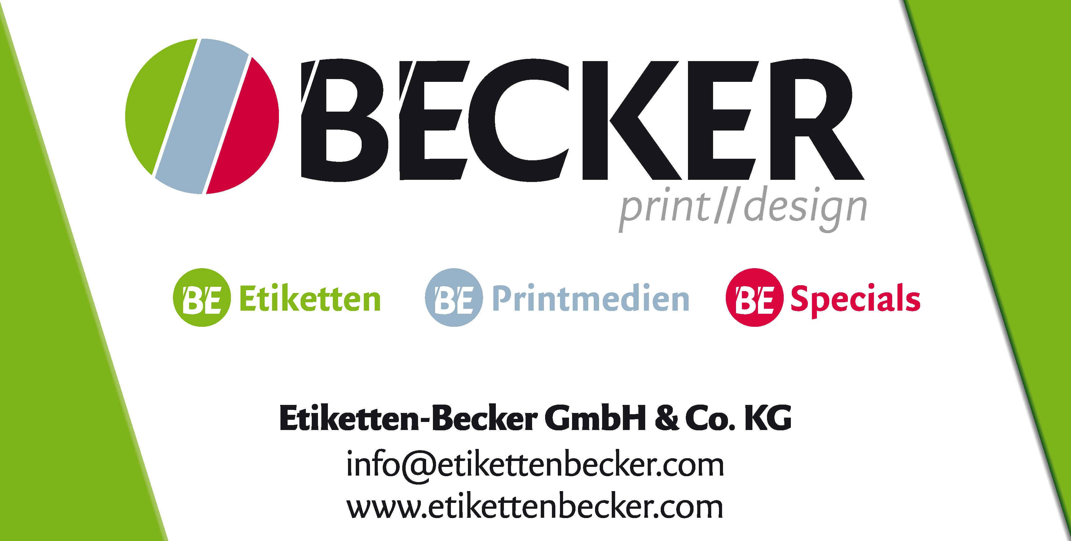 Etiketten Becker