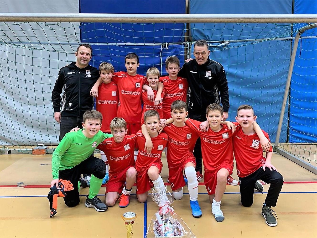 U12 wird 3. beim Turnier des SV Allmersbach