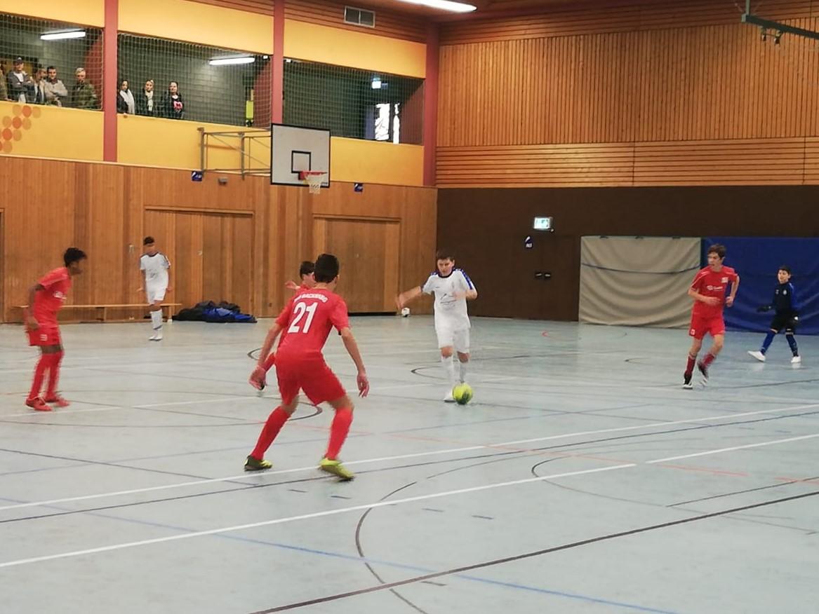 U13: Platz 3 beim Hallenturnier des VfL Waiblingen