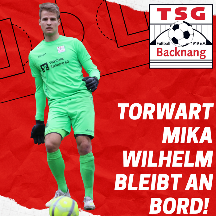 Keeper Mika Wilhelm verlängert in den Etzwiesen