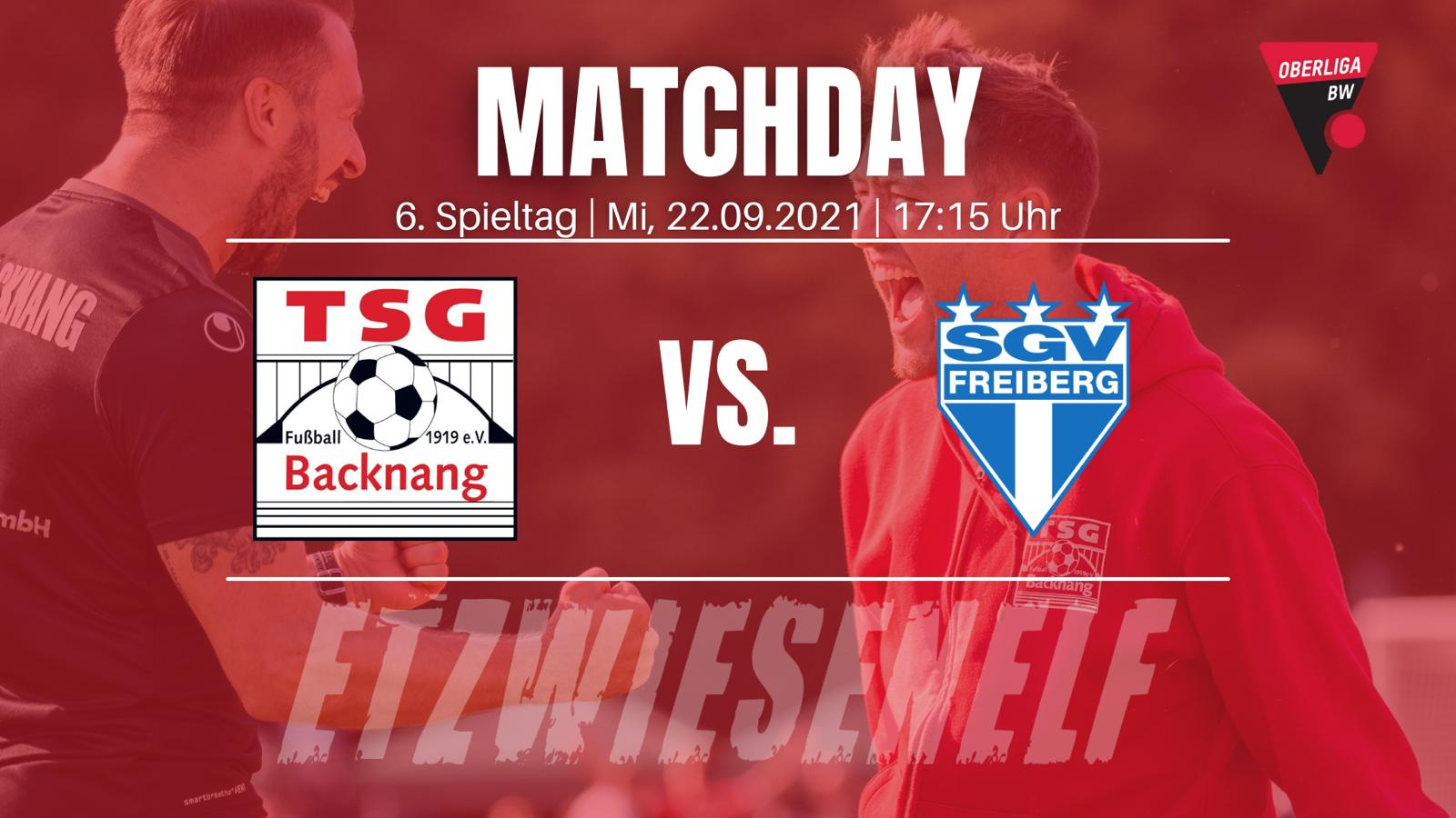 Nachholspiel gegen SGV Freiberg am 22.09.21