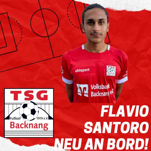 Flavio Santoro wird von Großaspach in die Etzwiesen ausgeliehen